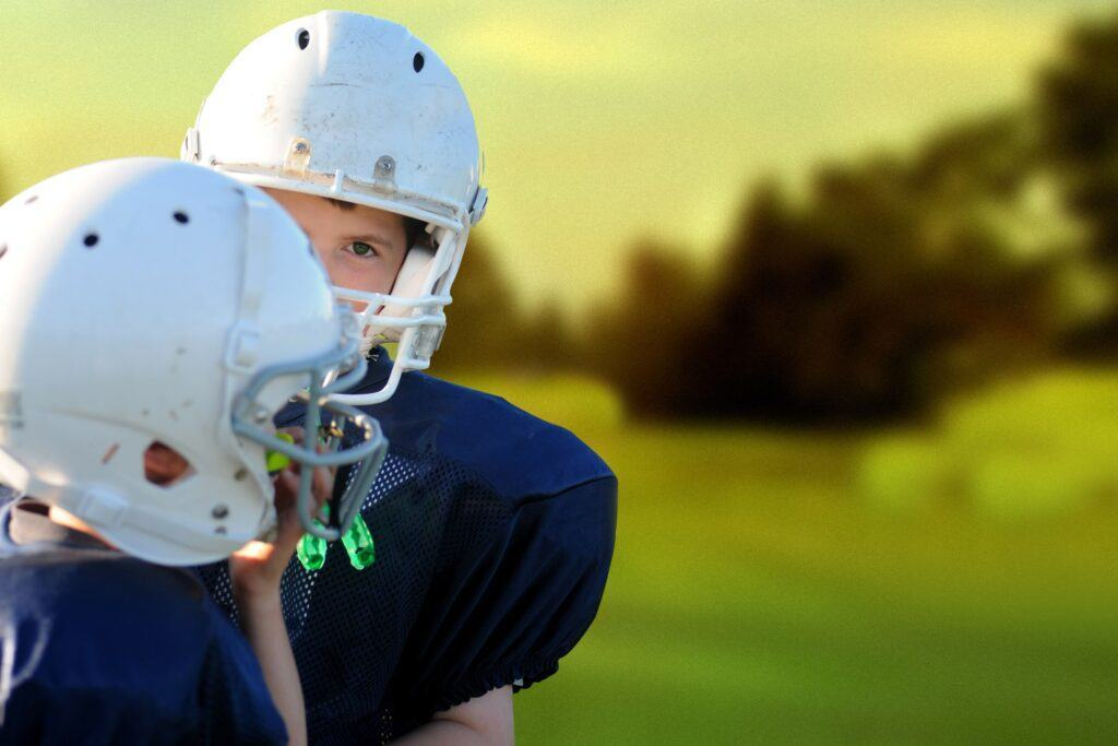Choose the best fitting football shoulder pads