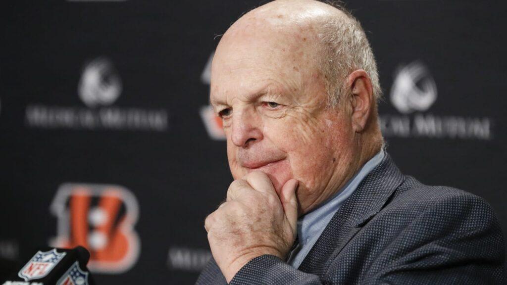 Mike Brown the owner of Cincinnati Bengals