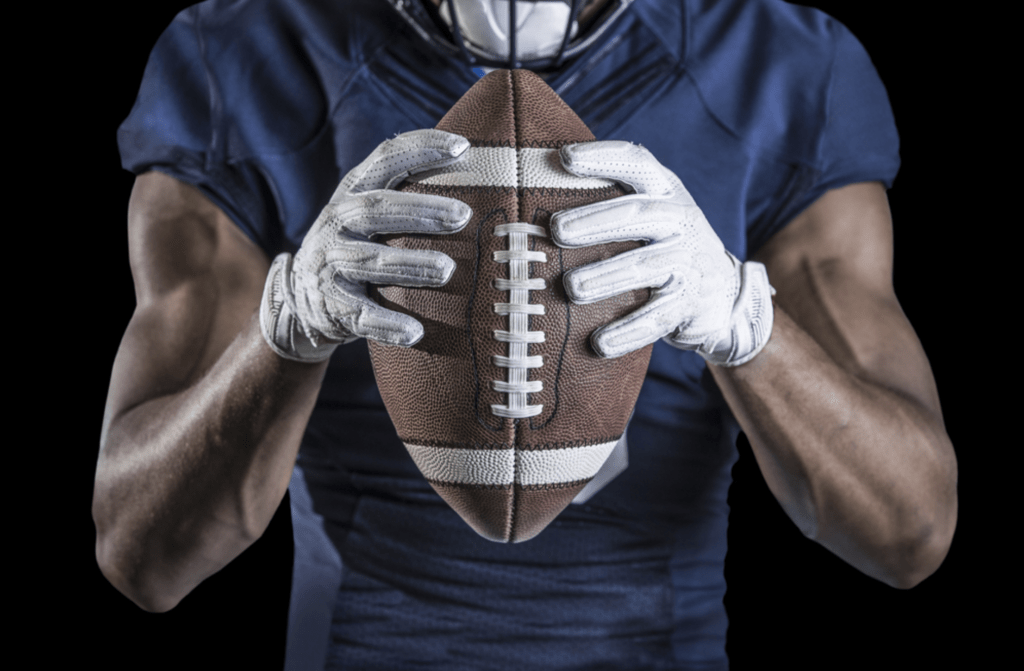 The benefits of the football gloves for wide receivers