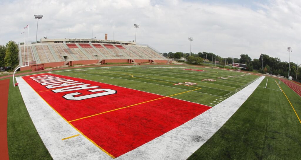 Each parts of a football field have their own standard dimension