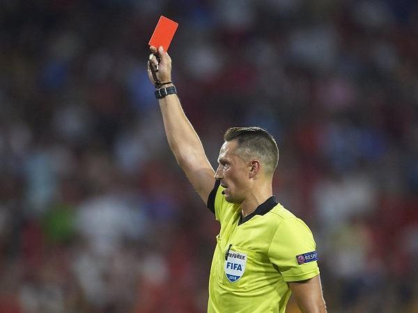 Red card in soccer mean scottfujita