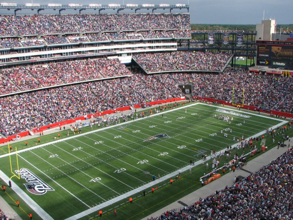 Some fun facts about football fields