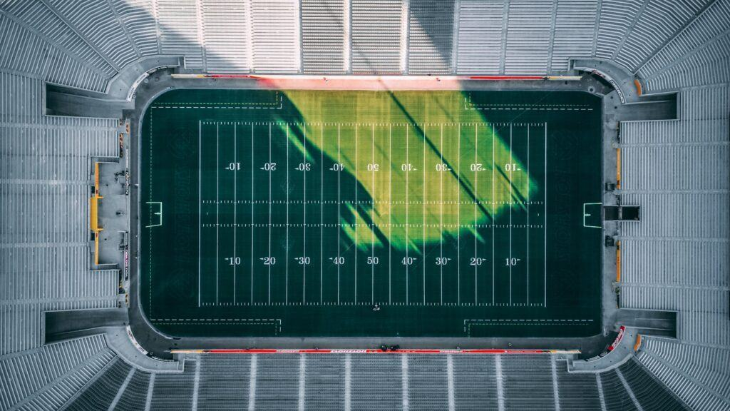The numbers and lines on the football field have meanings