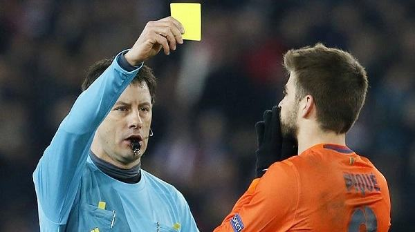 Two yellow cards in soccer equal 1 red card scottfujita