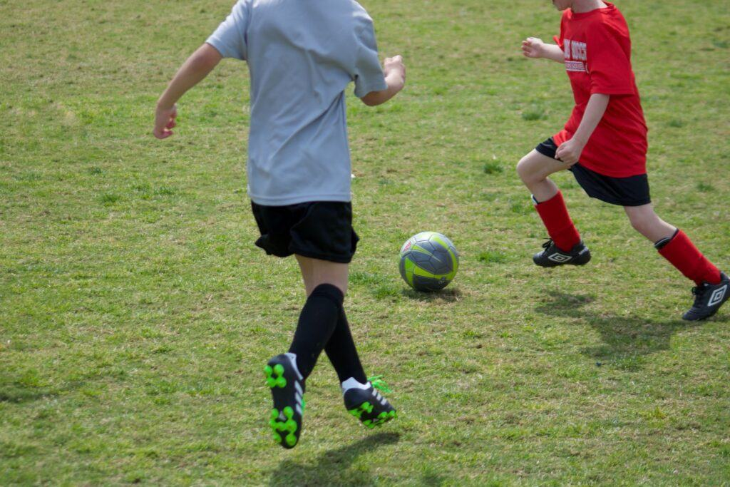 Youth soccer games last less than 90 minutes
