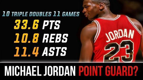 what position did michael jordan play 3